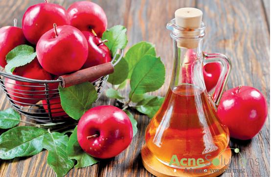 Cách trị mụn cấp tốc từ giấm táo